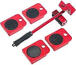 Tingz Meubels Sliders Zware Meubels Shifter Lifter Shifter Moving Wheels Kit Zware Punten Draagbare Duurzame 360 Graden Dr...