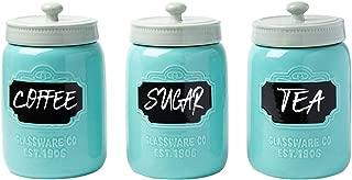Best blue ceramic storage jars Reviews