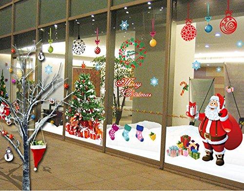 ufengke® Xlarge Merry Christmas Santa Claus Árbol de Navidad Regalos de la...