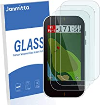 [3 Pack] Janmitta for Garmin Approach G80 Screen Protector, HD Protector [Anti-Scratch] [No-Bubble], Tempered Glass Film Glass for Garmin Approach G80