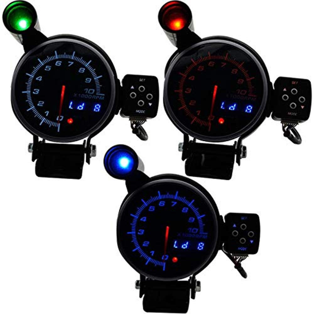 24V Tachometer  0-2700 RPM 100mm Alternator Driven Type With W Terminal
