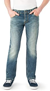 Big Boys' Slim Straight Fit Jeans