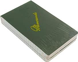 Green Military Memorandum Book / Military Memo Book, 3-3/8