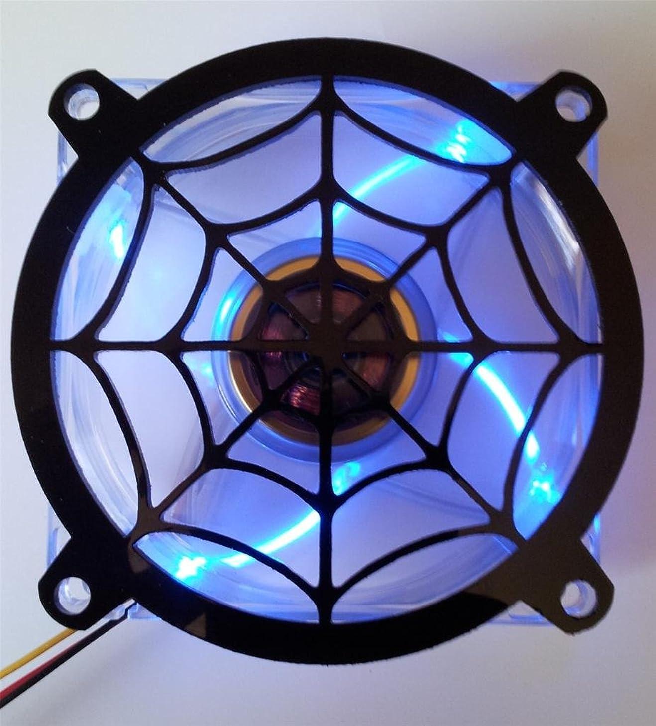 Custom Acrylic Spider Web Computer Fan Grill 120mm