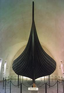 Norway Gokstad Ship Nthe 9Th Century Viking Ship Housed At The Viking Ship Museum In Oslo Norway Poster Print by (18 x 24)