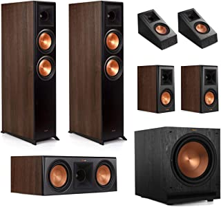 Klipsch RP-6000F 5.1.2 Dolby Atmos Home Theater System - Walnut