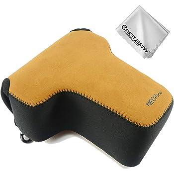 Marrón Funda Cámara Reflex Neopreno Protectora para Nikon D5600 ...
