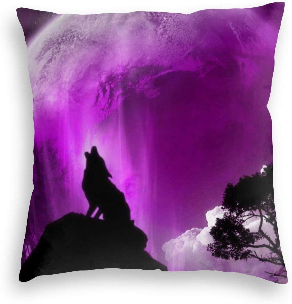 Jeans-15 Wolf Print Velvet Throw Trust Pillow Covers Cases Decorative Philadelphia Mall