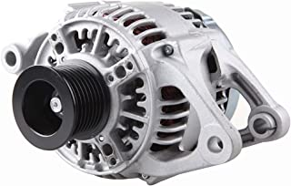 Alternators ECCPP AND0189 13822 for Dodge Dakota Pickup 2.5L Jeep Cherokee TJ Series Wrangler 1999 2000 2.5L 4.0L 117A/12V CW 6-Groove Pulley ER/IF