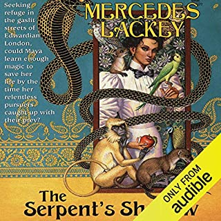 The Serpent's Shadow audiobook cover art
