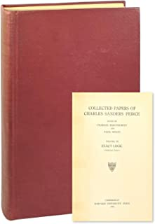 Collected Papers of Charles Sanders Peirce, Volume III: Exact Logic