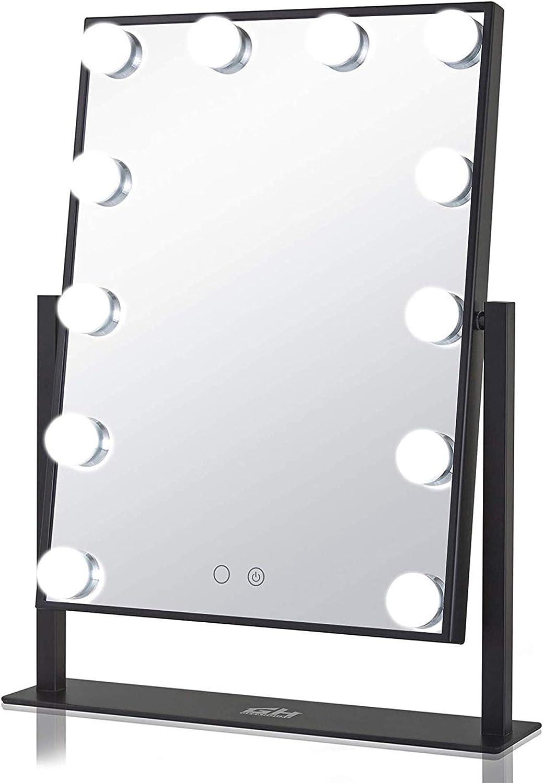 Trust Geek-House Tabletops Lighted Makeup Styl Mirror Hollywood Vanity Superlatite