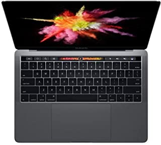 """Apple MacBook Pro 13.3"""" con Touch Bar (i5-6267u 2.9ghz 8gb 256gb SSD) QWERTY U.S Teclado MLH12LL/A Final 2016 Gris Espacia..."""