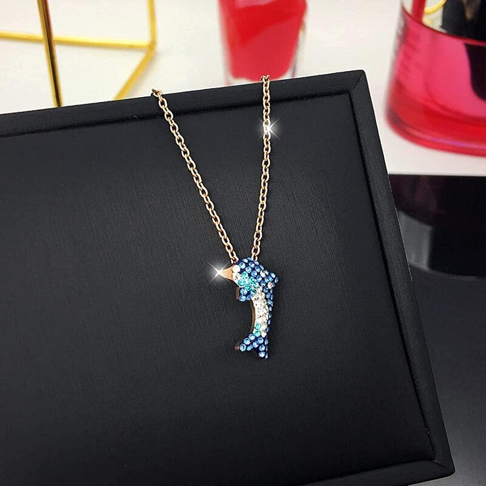 Cute and Cute Titanium Steel NecklaceProtecting The Color of The LettersNecklace for WomenJapan and South KoreaGiftAccessoriesNecklaceKeyChainCartoon