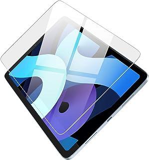 واقي شاشة بتغطية كاملة من يوجرين - من الزجاج المقسى مضاد للخدش - شفاف ومتوافق مع ايباد اير 10.9 انش (قطعة واحدة)