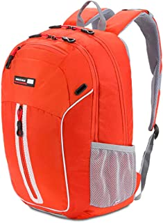 SWISSGEAR 3629 Large Laptop Backpack School Work and Travel/Pumpkin