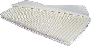 Nobiko Autobett Kinderbett Bett Schlafzimmer Kindermöbel Spielbett 160 x 80 cm + Qualitativ Hochwertige Schlafmatratze Dream Heaven m (Navy 122, 160 x 80 cm)