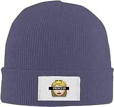 Woolen Emoji Princess Funny Logo Design Fashion Beanie Hats