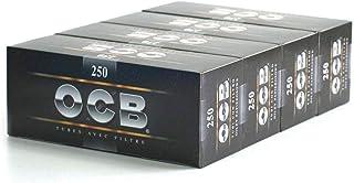 OCB Lot de 4 boîtes de 250tubes avec filtre