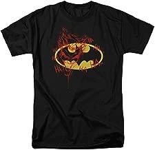 Batman Logo Joker Graffiti DC Comics T Shirt & Stickers