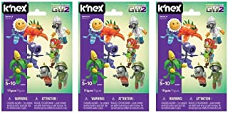 Plants vs Zombies K'nex Mystery Figures Series 6 - Set of Three Bags