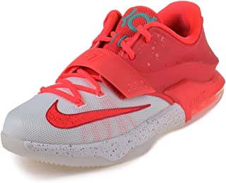 new arrivals fd66f 80f86 NIKE Boys KD VII (GS) Christmas Bright Crimson Ivory-Emerald Grn Synthetic