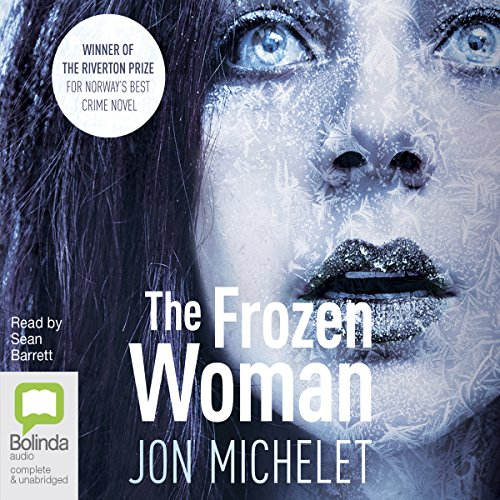The Frozen Woman audiobook cover art