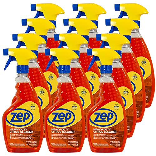 Zep Heavy-Duty Citrus Cleaner 24 ounce ZUCIT24CA (Case of 12) - Environmentally friendly, yet powerful citrus cleaner