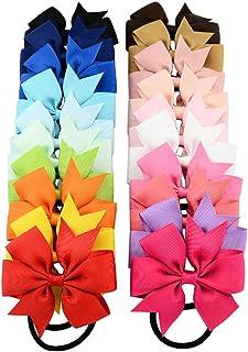 OULII Lazos cuerda anillo diademas bandas diademas accesorios para el cabello para bebé niñas niños niños niños mujeres y ...