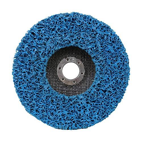 15,2 cm große Schleifscheibe, blauer Rost-Farbentferner, Reinigungs-Schleifscheibe für Winkelschleifer, 7/8 Loch