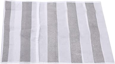 HHYK Horno Microondas Cubiertas Impermeables Gadgets De Cocina Fácil De Limpiar Accesorios Granel Al por Mayor Material Rganización Home Storage Bolsa (Color : Gray Stripes)