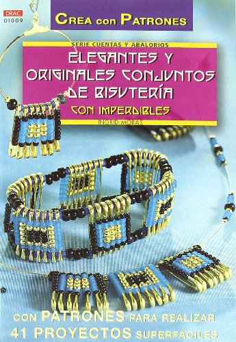 Elegantes y originales conjuntos de bisuteria con imperdibles