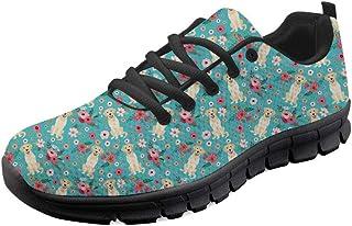 Coloranimal Baskets de Jogging de Course sur Route pour Femmes Air Mesh Chaussures de Course décontractées légères