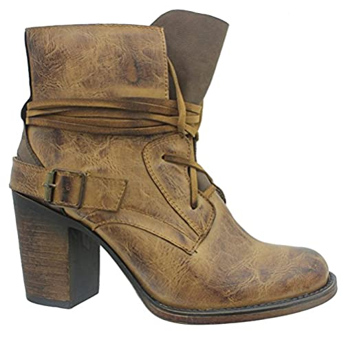 Women's Distressed Boots: