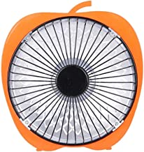 SMZsmz Winter Mini Solar Creativo De 6 Pulgadas De Dibujos Animados Calentador Eléctrico Calentador De Escritorio De Oficina Pequeño Calentador Ventilador, Dar Un Adaptador De Corriente