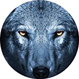 Adhesivos retroreflectantes para casco de lobo