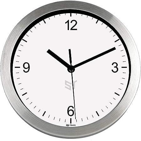 TFA Reloj de Pared con ventosas para baño y Cocina de 165 mm ...