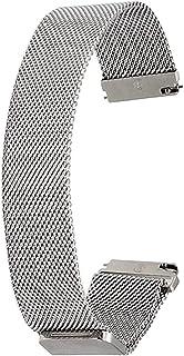 Achket الصلب ووتش حزام حزام حزام 16 ملليمتر 18 ملليمتر 20 ملليمتر 22 ملليمتر 23 ملليمتر 24 ملليمتر العالمي الفولاذ المقاوم...