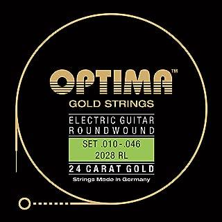 Optima 2028 RL Electric GOLD Strings, regular light