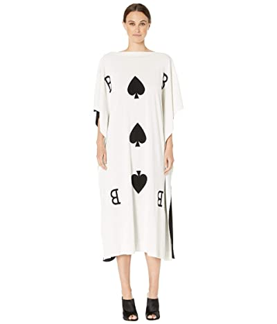 Boutique Moschino Card Dress (Fantasy Print Black) Women
