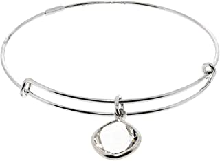 Alex and Ani 14k Gold Plated Crystal