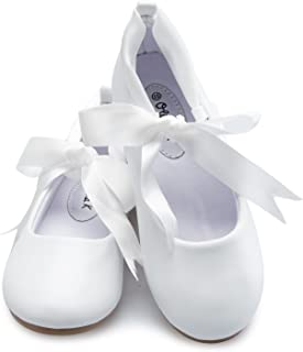 Best white ribbon flats Reviews