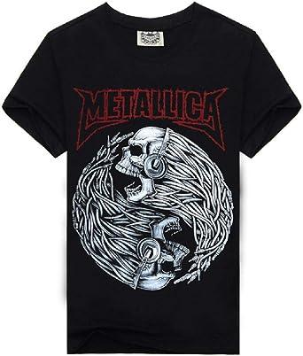 Camiseta metálica - Camisa - Camiseta - Hombre - niño - Manga ...