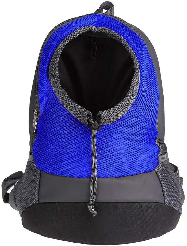 ddbfe241197a Breathable Double Shoulder Pet Bags Dog Bag Mesh Backpack Hiking ...