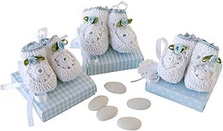 Mopec aep1406.3 – Set Booties Crochet On 3 Case estucados Master in Blue 5