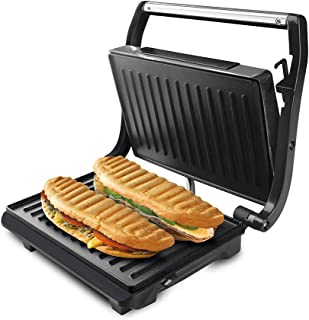 comprar comparacion Taurus 968419000 Grill & Toast - Sandwichera con placas grill antiadherentes, 700 W, tapa basculante, gancho fijo de cierr...