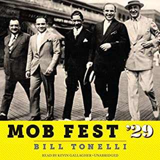 Mob Fest '29 audiobook cover art