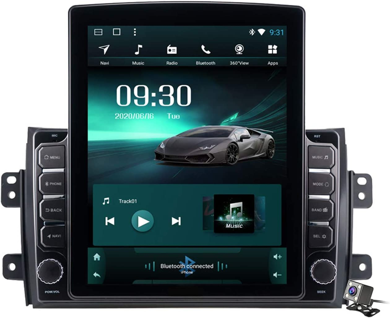 Outstanding Car Stereo Android 9.0 Radio for SX4 Suzuki Naviga GPS 2006-2016 Max 51% OFF