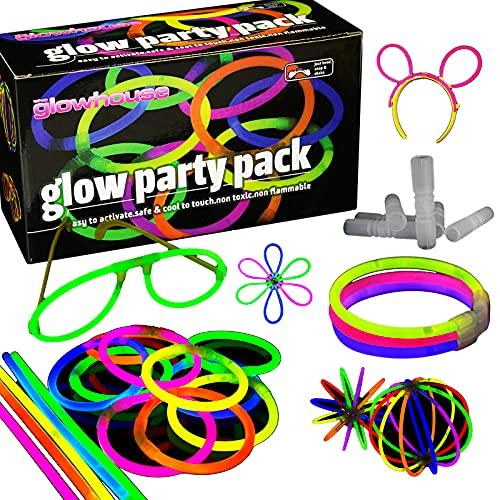 Qualità Premium Confezione Glow Stick Party (228 pezzi) 100x20cm Braccialetti - Creare: bastoncini...