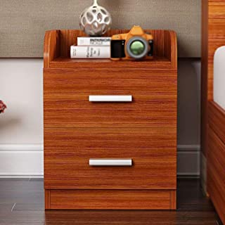 DEED Small Table Household Bedside Nightstand Cabinet Wenge Furniture Chest Drawer Storage Shelf Simple Modern Bedroom Simple Study Table